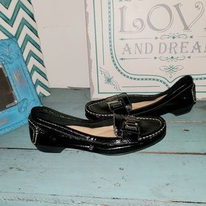 Black Patent Leather Sz 7.5 Naturalizer Loafers